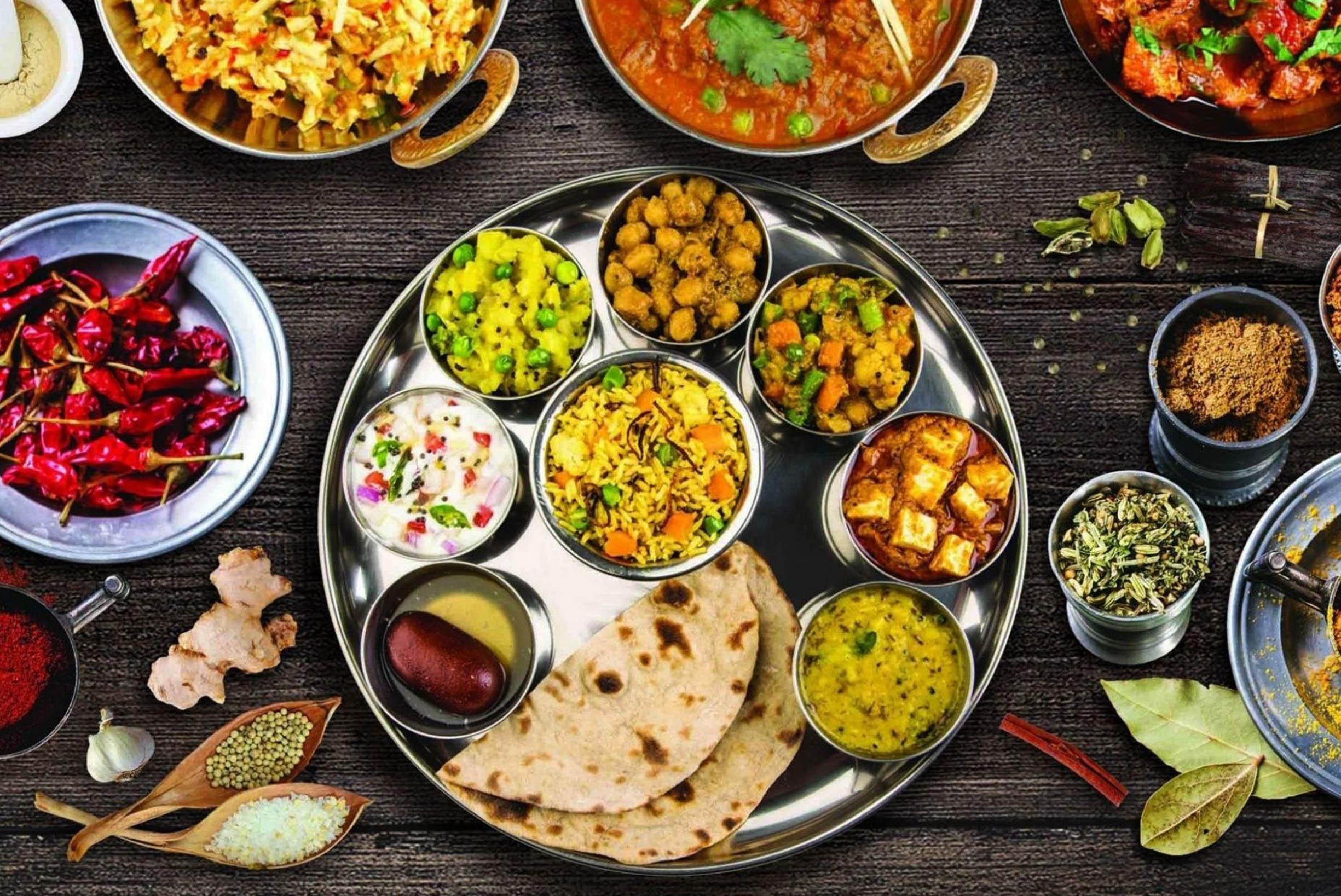 розетка зеленых кухня индии национальные особенности с фото светлее